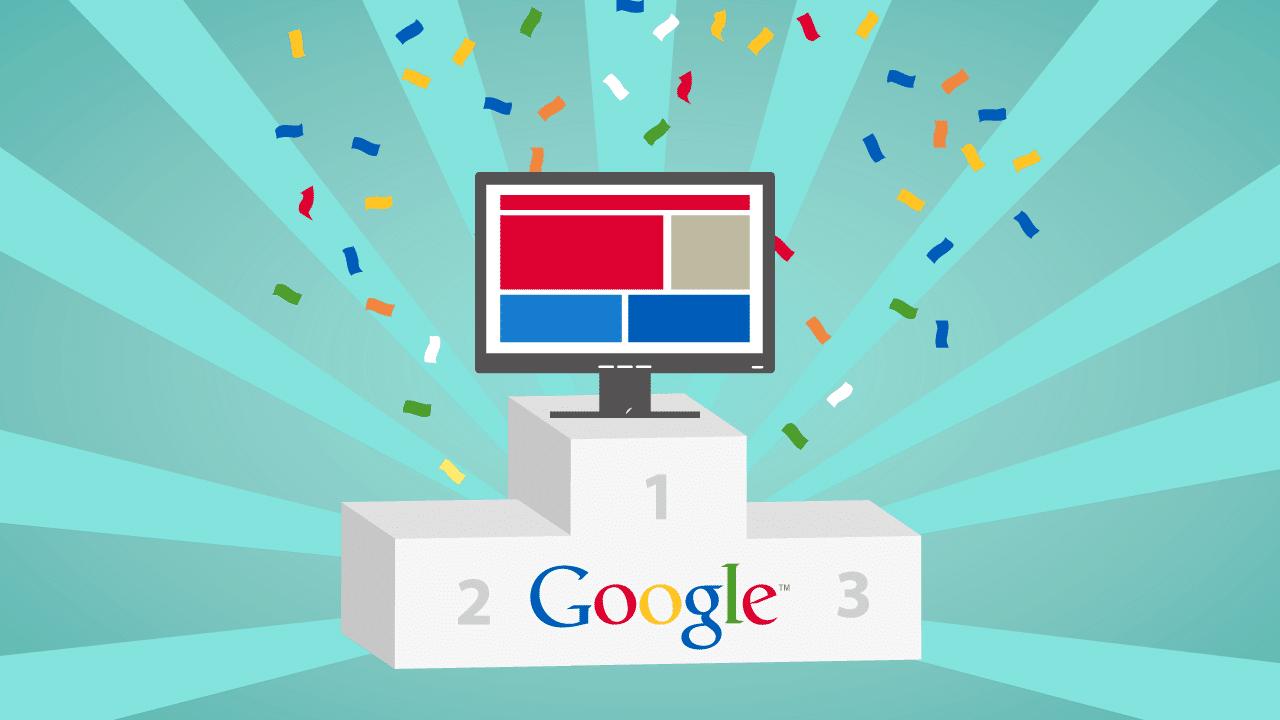 Google ilk sırada yer almak